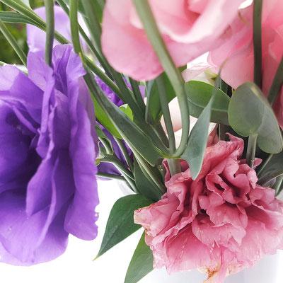 ...natürlich gibt es auf dem Markt auch wunderschöne Blumen...