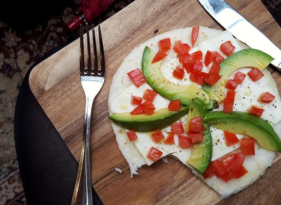 Mein erstes Frühstück in NYC: Arepas - leckere kolumbianische Maisfladen