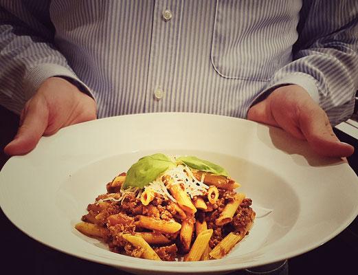 ...unser Experiment mit vegetarischer Bolognese...