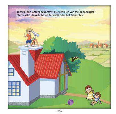 Einblick in das 36-seitige Kinder und Mitmachbuch