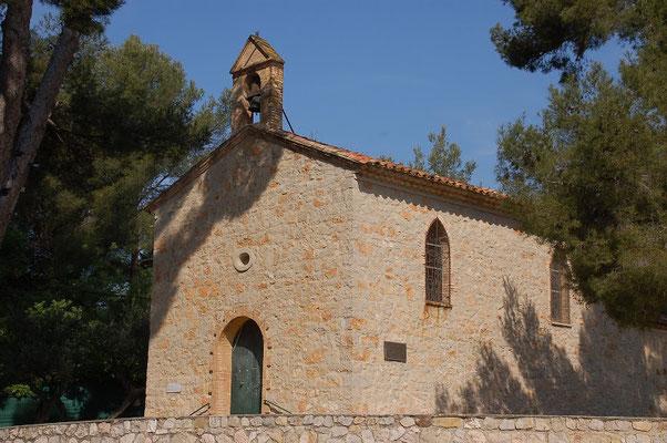 tourisme Ollioules : chapelle de Faveyrolles