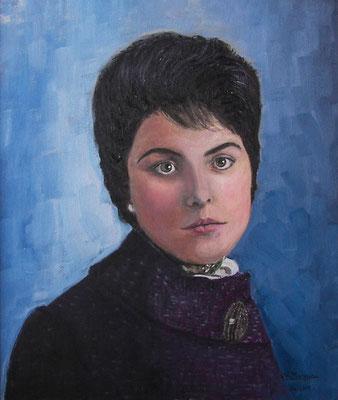 Carmen (óleo sobre lienzo), 65 x 55