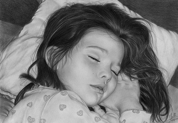Dulces Sueños Mi Amor - Grafito - 21x30