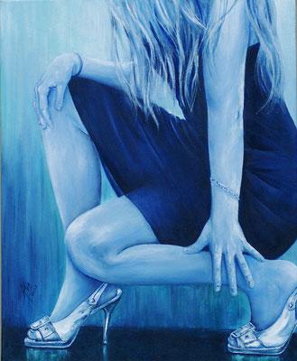 Fashion Victim - Óleo sobre lienzo – 50 x 61