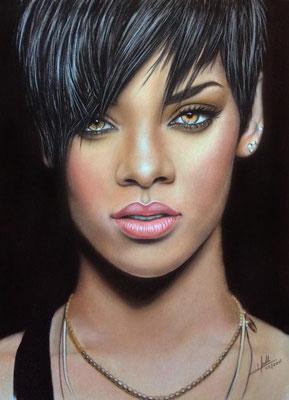 Rihanna - Pastel  - 30x40