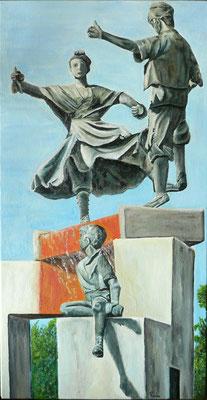 Joteros – Oleo sobre lienzo – 40x80