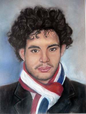 Diego – Pastel papel Canson – 30x42