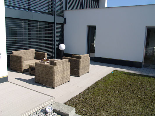 WPC Deck Steingrau - Terrasse