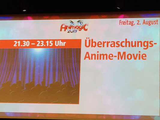 Animagic Überraschungsfilm - Dragonball Super