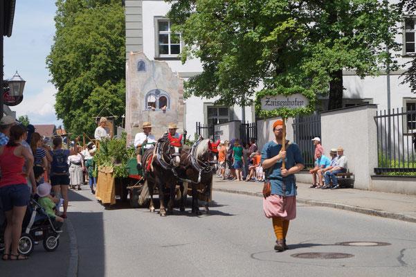 Mittelalterliche Tage Kißlegg, 03.06.17 mit Franzi & Jorett