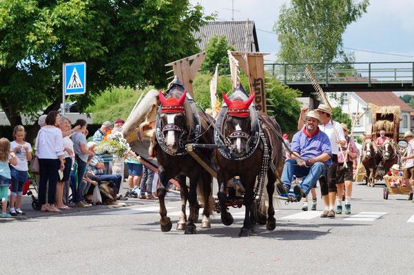 Kinderfest Altshausen, 25.06.17 mit Franzi & Jorett