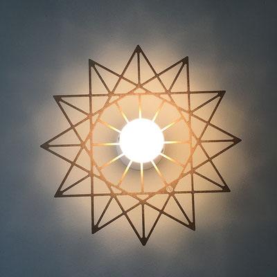 LED bulb silver mirror 8 W