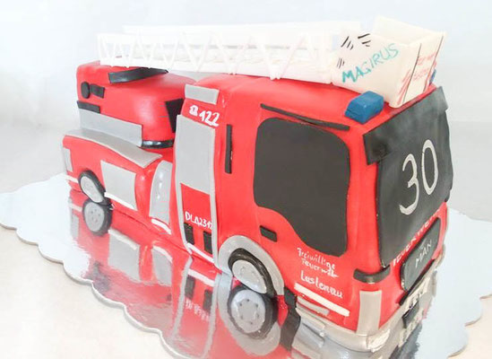 Feuerwehr Torte  @ Renates Torten Design
