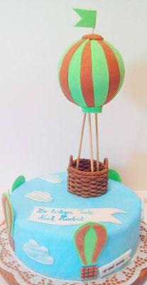 Kindertorte Balon @ Renates Torten Design