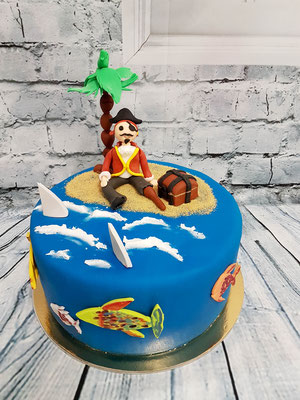 Piraten Kindertorte Renates Torten Design