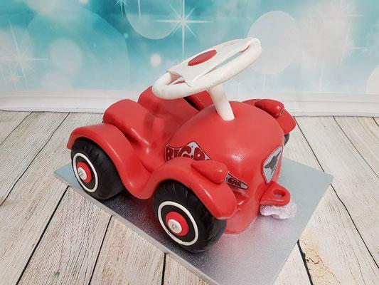 kleines Auto rot Torte Renates Torten Design Vorarlberg