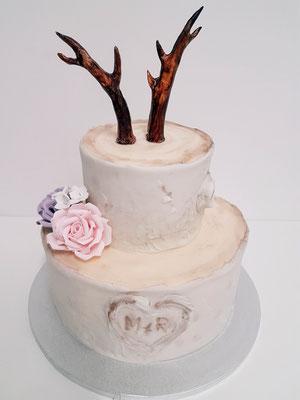 Jäger Hochzeitstorte Vorarlberg Renates Torten Design