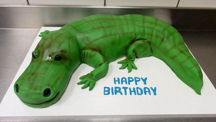 Kindertorte Krokodil @ Renates Torten Design