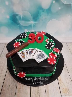 Poker Torte Renates Torten Design Vorarlberg