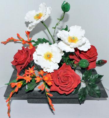 Blumen Modeliert @ Renates Torten Design