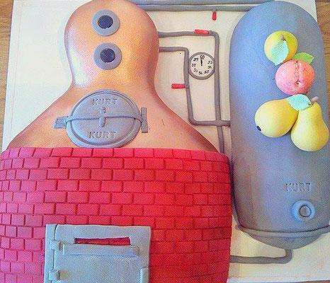 Geburtstagstorte Brennerei @ Renates Torten Design