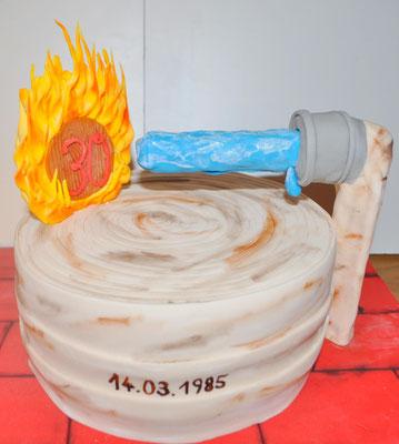 Geburtstagstorte Feuerwehr @ Renates Torten Design