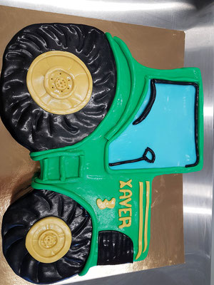 Traktor Kindertorte Renates Torten Design
