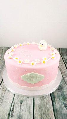Tauftorte Mädchen Konditorei Vorarlberg  Renates Torten Design