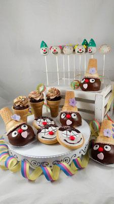 Fasching Kindertorte Renates Torten Design