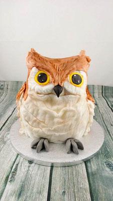 Eulen Torte Renates Torten Design