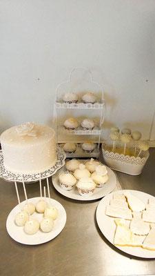 Sweet Table Hochzeit @ Renates Torten Design