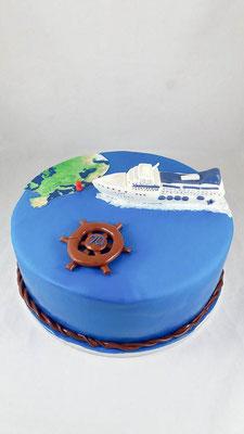 Reise  Geburtstagstorte Renates Torten Design