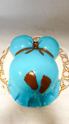 Babybauch Torte @ Renates Torten Design