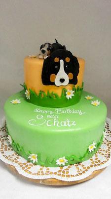 Kindertorte Hund @ Renates Torten Design