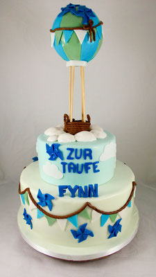 Tauftorte Jungen Konditorei Vorarlberg  Renates Torten Design