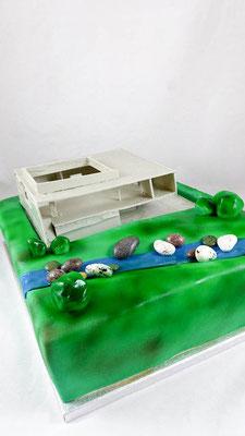 Traumhaus  Geburtstagstorte Renates Torten Design
