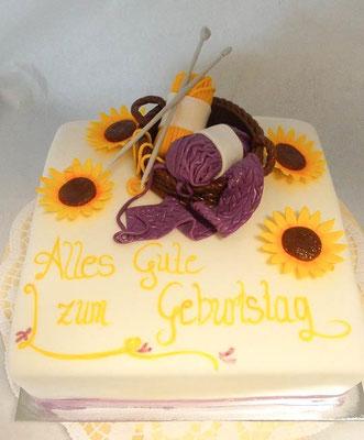 Geburtstagstorte @ Renates Torten Design