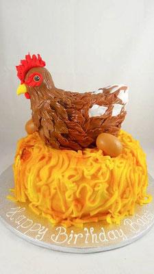 Huhn Torte Renates Torten Design