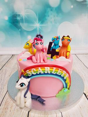 Pferde Kindertorte Renates Torten Design