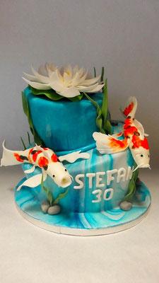 Fisch Torte  @ Renates Torten Design