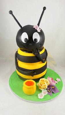 Bienen Torte Renates Torten Design