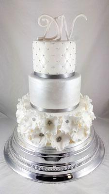 Renates Torten Design Hochzeitstorte Vorarlberg