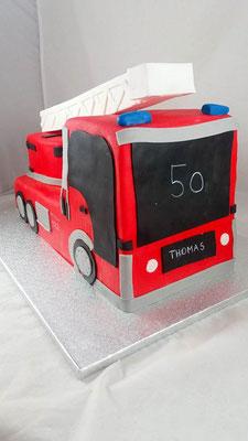 Feuerwehr  Geburtstagstorte Renates Torten Design