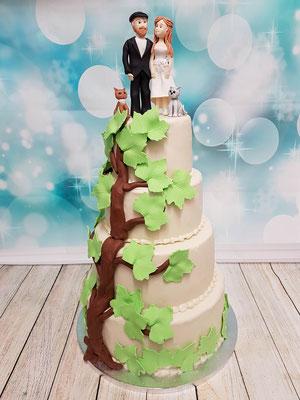 Baum Hochzeitstorte Vorarlberg Renates Torten Design