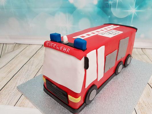 Feuerwehr Torte Renates Torten Design Vorarlberg