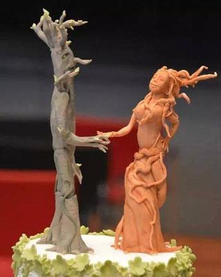 Hochzeitstorte Baumgeister @ Renates Torten Design