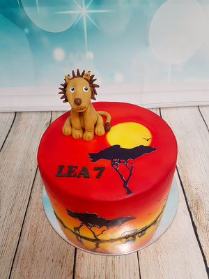 Löwen Kindertorte Renates Torten Design