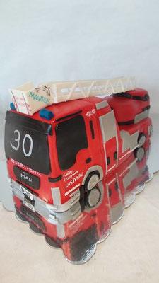 Torte Feuerwehr Lustenau @ Renates Torten Design Vorarlberg
