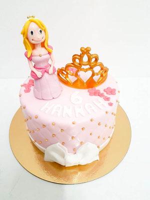 Prinzessin Kindertorte Renates Torten Design