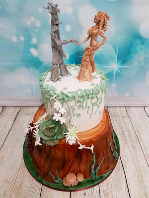 Wald Hochzeitstorte Vorarlberg Renates Torten Design